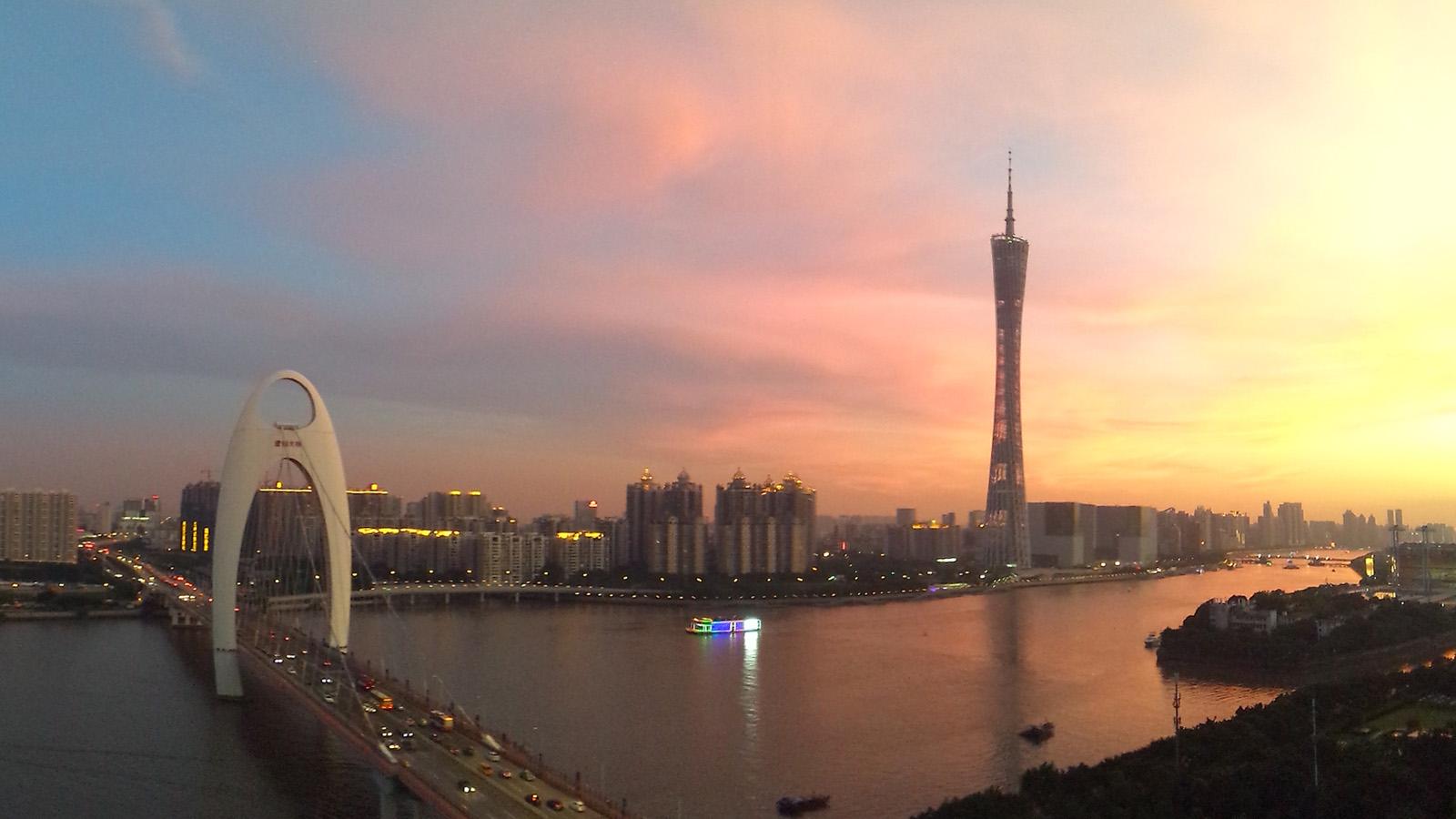 广州小蛮腰风景
